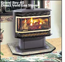 Aladdin Hearth Products Quadrafire Gas Stoves And